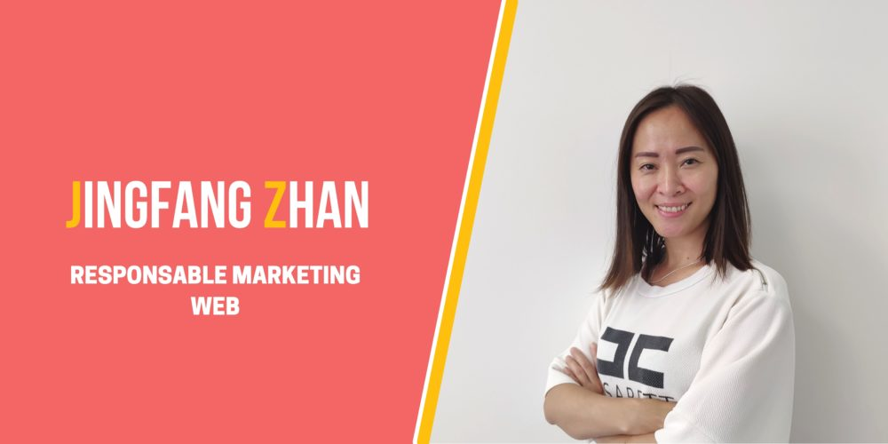 Jingfang ZHAN, Responsable Webmarketing